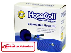 Expandable Hose Kit, includes Nozzle & Bag 25 ft Length