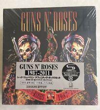 GUNS N'ROSES 1987-2011 9 CD + 2 DVD BOX SET JAPAN EDITION Collection