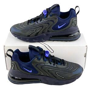 Nike Air Max 270 React ENG Black Sapphire Men's Shoes Sneakers Blue CD0113 001