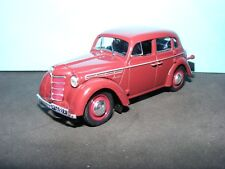 Moskvitch 400 maroon with black trim De Agostini Polska Import NEW 1:43 rd.Scale