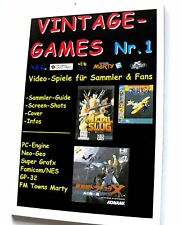Game Guide (PC-Engine Spriggan,Sapphire, Magical Chase,Galaga 88, Dracula X usw.