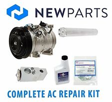 Fits Honda Accord 03-07 V6 3L Complete A/C Repair Kit New Compressor & Clutch