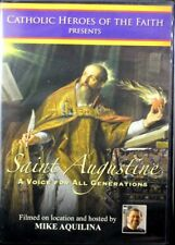 Catholic Heroes Saint Augustine A Voice For All Generations Documentary NEW DVD