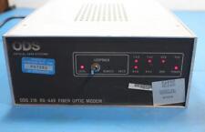 ODS Fiber Optic Modem 219 RS-449 NSN#5895014077640