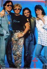 Rare Van Halen 1986 Vintage Original Music Poster