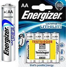 8 Energizer Ultimate Lithium AA Mignon MN1500 LR6 AM3