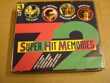 3-CD BOX / 72 SUPER HIT MEMORIES ( THE KINKS, ROY ORBISON... )