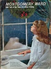 1966 MONTGOMERY WARD '66 CHRISTMAS Catalog Wishbook WARDS