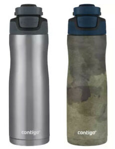 2X Contigo Autoseal Couture 20oz Vacuum Insulated Stainless Steel Water Bottle