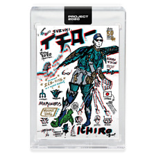 Topps PROJECT 2020 Card 252 - 2001 Ichiro by Gregory Siff -Presale-