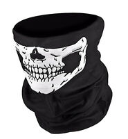 Skull Biker BMX Mask Bandana Balaclava Face Mask Snood Neck Tube UK STOCK