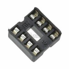 100PCS 8-Pins 8pin DIP Pitch IC Sockets Adaptor Solder Type Socket