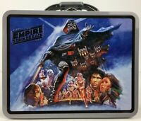 Star Wars Empire Strikes Back Embossed Movie Poster Tin Tote Lunch / Storage Box