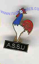 FRENCH SCHOOLS - CLASP RUGBY PIN BADGE