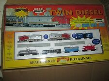 Twin Diesel Ready To Run HO Scale Model Power Train Set