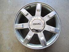"""BLACK GMC CENTER CAPS FOR 22"""" ESCALADE CHROME WHEELS RIMS 5309 SET OF FOUR NEW 4"""