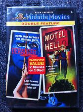 DERANGED / MOTEL HELL - DVD REGION 1/USA - Midnite Movies