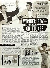 More details for elvis presley wonder boy or fluke? vintage music article 1956