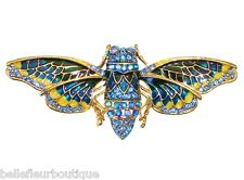 Enchanted Garden* with Sparkling Blue Crystals Fairyland Bee Pin *Keeper of the