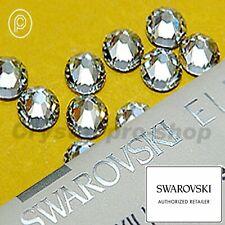 Swarovski ( NO Hotfix ) Rhinestone Crystal Clear (001) Flatback Gems Nail Art