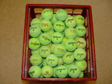 100 Clean Tennis Balls Batting Practice Fetch Toys Floor Protector