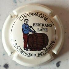 capsule champagne BERTRAND LAPIE cuvée fut de chêne millésime