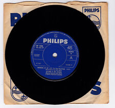 SP 45 TOURS ESTHER & ABI OFARIM MORNING OF MY LIFE PHILIPS BF 1604 en 1967