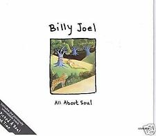 BILLY JOEL ALL ABOUT SOUL MIXES + YOU PICKED A REAL BAD TIME 4 TRACK CD SINGLE