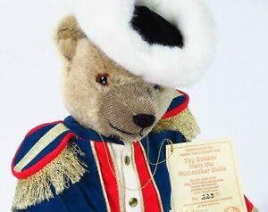 Hermann Bear Plush Toy Soldier Mohair Teddy No No Limited European 229/500 E