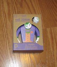 The Joker Painted Wooden Figure DC Comics Loot Crate Toys, Batman Nemisis