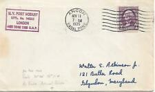 SHIPPING CANCEL ON 1935 CANAL ZONE COVER WITH 3c    MY REF 1079