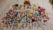 Polly POCKET GRANDI Job Lotto oltre 100 articoli 18 Ragazze 3 ragazzi-animali per auto e abiti