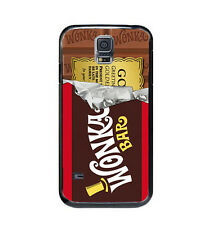 Willy Wonka Golden Ticket Chocolate Bar Case Cover For Samsung Galaxy S5