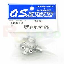 CARBURETOR BODY 60R FS-70SII # OS44082100 **O.S. Engines Genuine Parts**
