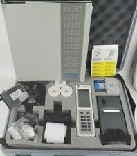 Abbott I Stat Portable Blood Hematology Analyzer With Accessories Case Manual