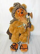 Magnificent Rare Robert Raikes 1995 Large Viking Collectible Teddy Bear