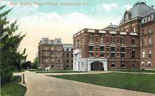 Poughkeepsie Ny~Mansard Roofs~White Horse & Carriage @ Vassar College~1910