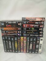 Bundle of WWF WWE Wrestling VHS Tapes - Mid 90's to Early 2000's - 23 Total