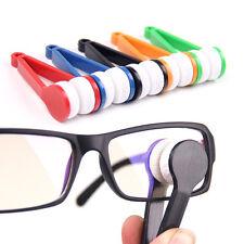 1PC Modern Mini Glasses Eyeglass Sunglasses Spectacles Microfiber Cleaner Brush