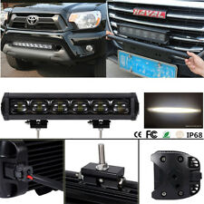 """6DLens 120W 12"""" CREE Work LED Light Bar Waterproof For Offroad Truck ATV Trailer"""