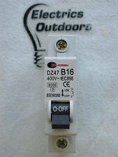 CGD 16 AMP TYPE B 6 kA MCB CIRCUIT BREAKER DZ47