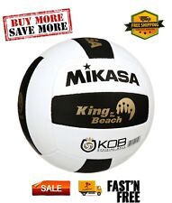 Mikasa King of the Beach Official Pro Tour Game Volleyball Black