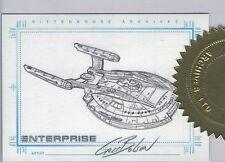 Star Trek Enterprise Season 1 Sketch Cris Bolson Case Topper Incentive card