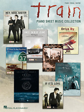 """TRAIN """"PIANO SHEET MUSIC COLLECTION"""" PIANO/VOCAL/GUITAR MUSIC BOOK-BRAND NEW!!"""