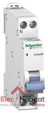 Lot de 12 disjoncteurs unipolaire+neutre déclic 16A Schneider 20726