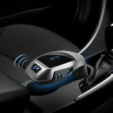 X5 Bluetooth Car Kit MP3 Wireless FM Transmitter USB SD LCD Charger Handsfree