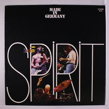 SPIRIT: Made In Germany LP (Germany, laminated cover, inner sleeve, disc nearly