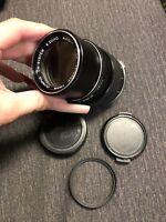 OLYMPUS OM-SYSTEM E.ZUIKO AUTO-T 135mm f/3.5 Camera Lens