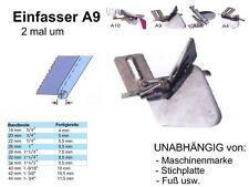 Einfasser A9 Schrägband 38 zu 9,5 mm UNIVERSELL passend