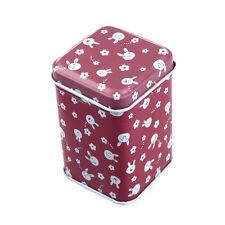 Metal Candy Trinket Tin Iron Tea Coin Square Storage Box Case WHOLESALE